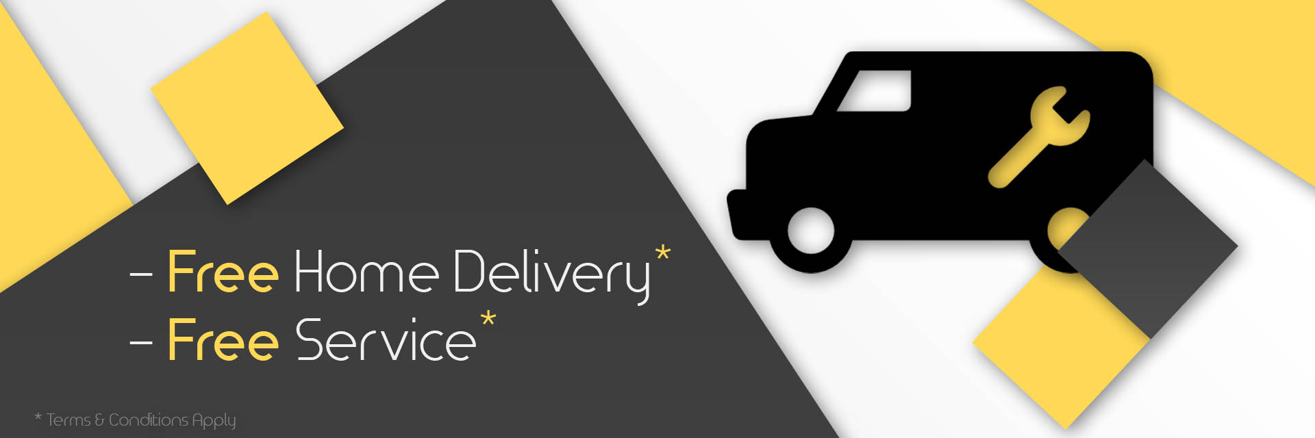 Free Home Delivery and Services
